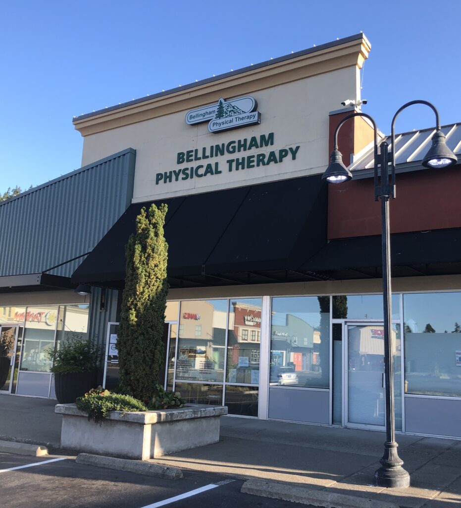 bellingham physical therapy front